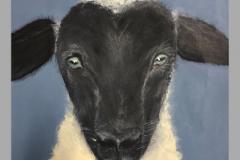 Ceci Sells Sheep at the Sheep Show
