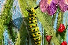 Garden Party, Caterpillar Detail