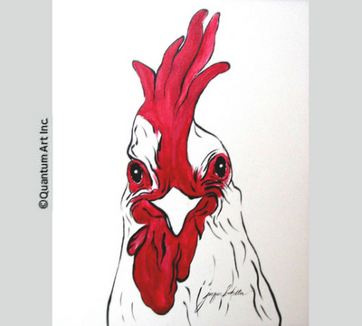 Chicken with Red