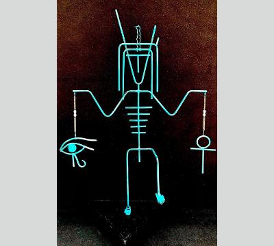 Stick Figure Series - He Walks Like An Egyptian