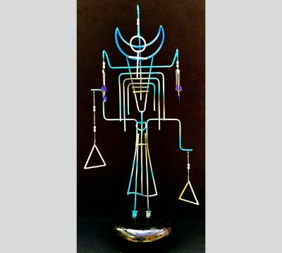Stick Figure Series - She Walks Like An Egyptian