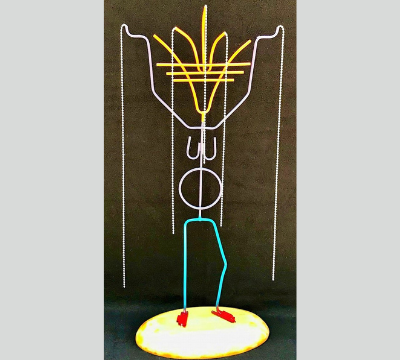 Stick Figure Series - Rain Dance