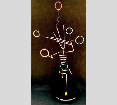 Stick Figure Series - The Juggler