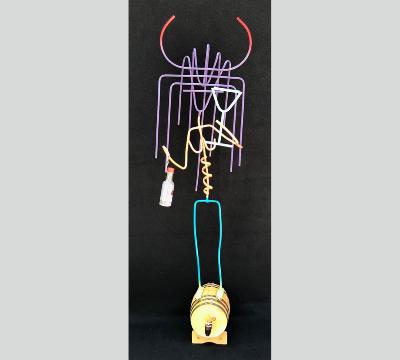 Stick Figure Series - Just a Sip