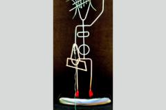 Stick Figure Series - Mimi Walking Fifi